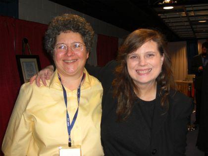 Cynthia Yockey with Joy McCann, Little Miss Attila