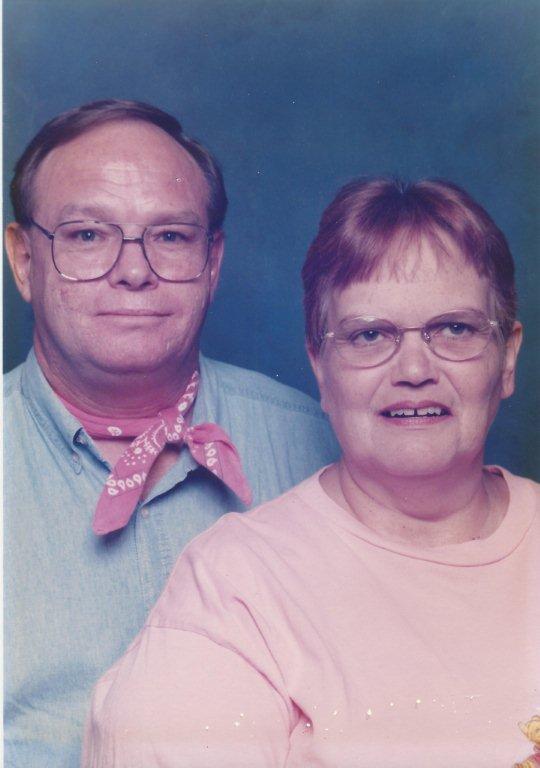 Peter and Linda Lou Davis, of Resume Speed, Texas, circa 2003. Linda Lou passed away on June 26, 2013.